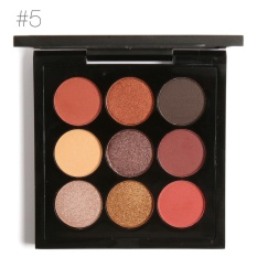 FOCALLURE 9Colors Eye Shadow Palette Long Lasting Bright Eye Makeup Gift Kit #5