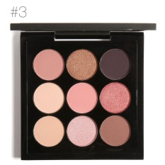 Ulasan Mengenai Focallure 9 Warna Eye Shadow Palet Set Tahan Lama Cerah Eye Makeup Hadiah Kit 3