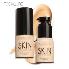 FOCALLURE Basis Krim Wajah Whitening Melembabkan Concealer Kamuflase Liquid Foundation Makeup #7