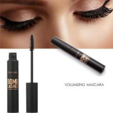 【Beli satu gratis satu!!!】FOCALLURE Black Volume Curling Mascara Waterproof Lengthening Mascara Eyes Beauty Makeup - intl