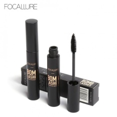 FOCALLURE Black Volume Curling Mascara Waterproof Lengthening Mascara Eyes Beauty Makeup - intl