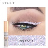 Ulasan Lengkap Focallure Glitter Eyeliner Cair Shining Metallic Eyeliner Liquid Eye Makeup Liquid 5 Intl