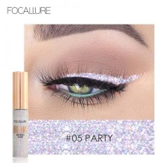 Beli Focallure Glitter Eyeliner Cair Shining Metallic Eyeliner Liquid Eye Makeup Liquid 5 Intl Oem Murah