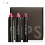 Harga Focallure Long Lasting Red Velvet Matte Color Pencil Lipstick Crayon Makeup Set Intl Online
