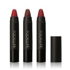 Harga Focallure Red Velvet Matte Warna Pensil Lipstik Crayon Makeup Set Intl Fullset Murah