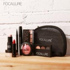Jual Focallure Makeup Tool Kit 8 Pcs Harus Memiliki Kosmetik Termasuk Pewarna Mata Dengan Tas Rias Internasional Branded Original