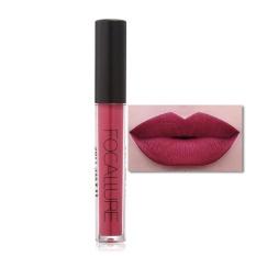 FOCALLURE Matte Tahan Lama Tahan Air Moisturizing Lip Gloss Riasan Kosmetik #5-Intl
