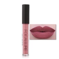 FOCALLURE Matte Tahan Lama Tahan Air Moisturizing Lip Gloss Riasan Kosmetik #8-Intl