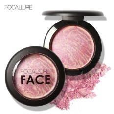 Review Focallure Wajah Alami Powder Pressed Baked Blush Makeup Kosmetik N 1 Terbaru
