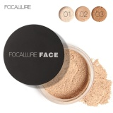 Spesifikasi Focallure New Face Anti Sweat Long Lasting Makeup Loose Powder Cosmetic 1 Intl Yang Bagus Dan Murah