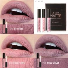 Toko Focallure Baru Fashion Matte Lipstik Kosmetik S*Xy Lip Metallic Lip Gloss Kit Intl Online Tiongkok