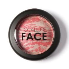 Focallure Baru Wajah Alami Powder Pressed Baked Blush Kosmetik 5 Intl Oem Diskon