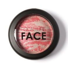 Spesifikasi Focallure Baru Wajah Alami Powder Pressed Baked Blush Kosmetik 5 Intl Murah Berkualitas