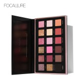 Focallure Pro 18 Colors Glitter Matte Easy To Wear Warm Smokey Eye Shadow Palette Eyes Cosmetics Tools 01 Color Intl Focallure Diskon 30