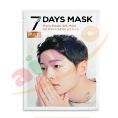 Forencos 7 Days Mask Song Jong Ki Saturday Mayu Elastic Silk Mask - Masker Song Jongki - Sabtu - 4 Pcs