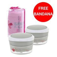 Jual Sakura Collagen Cream 10G 2 Pcs Free Bandana Meiji