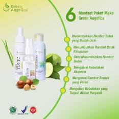 Harga Paket Obat Penumbuh Rambut Rontok Botak Green Angelica Herbal Alami Green Angelica Jawa Timur