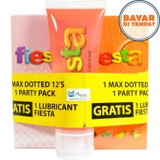 Iklan Free Lubricant Gel 70 Ml Fiesta Max Dotted Isi 12 Fiesta Party Pack