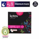 Harga Kotex Premium Natural Care Overnight Lavender 30 Pcs Online