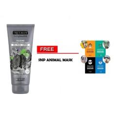 Toko Freeman Polishing Charcoal Black Sugar F*c**l Polishing Mask Gel Mask Scrub 1 Buah Gratis Snp Animal Mask 1 Buah Murah Di Indonesia