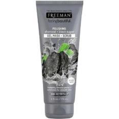 Kualitas Freeman Polishing Charcoal Black Sugar Gel Mask Scrub Masker 175 Ml Freeman