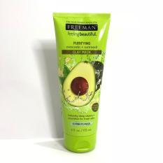 Tips Beli Freeman Purifying Avocado Oatmeal Clay Mask 175Ml Yang Bagus