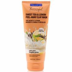 Katalog Freeman Sweet Tea And Lemon Peel Away Clay Mask Freeman Terbaru