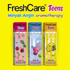 Freshcare Teens Mix Varian @ 10 Ml ( Happy Cherry, Passion Fruit Dan Bubble Gum) By Ultra Sakti.