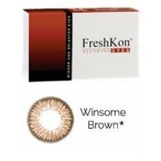 Beli Freshkon Alluring Eyes Winsome Brown Online