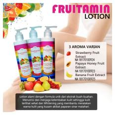 Review Toko Fruitamin Body Lotion Varian Fruit Extract Original Bpom 250Ml