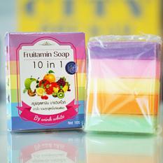 Harga Fruitamin Soap 10 In 1 By Wink White Original Pemutih Wajah Merk Fruitamin Soap