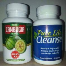 Berapa Harga Garcinia Pure Cambogia Ultra Pure Life Cleanse Detox Colon Usus Paket Pelangsing 1 Set Original Usa By Biotrimlabs Biotrim Labs Di Indonesia