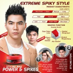 Gatsby Styling Wax Power And Spikes 75gr