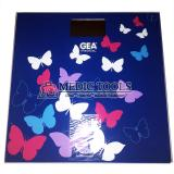 Beli Gea Timbangan Digital Motif Navy Blue Kupu Kupu Gea Asli