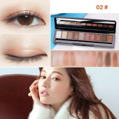 Review Terbaik Gecomo 10 Warna Palet Eyeshadow Mewah Golden Pearl Matte N*d* Eye Shadow Intl
