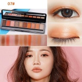 Diskon Gecomo 10 Warna Palet Eyeshadow Mewah Golden Pearl Matte N*d* Eye Shadow Intl Oem
