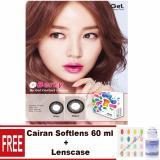 Gel Ice Cream Softlens - Black Free Lenscase + Cairan 60ml | Lazada Indonesia