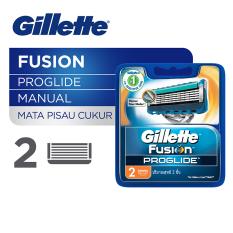 Beli Gillette Fusion Proglide Isi Ulang 2 Cartridges Gillette Dengan Harga Terjangkau