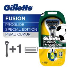 Perbandingan Harga Gillette Pisau Cukur Fusion Proglide Brazil Edition Di Indonesia