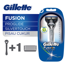 Obral Gillette Pisau Cukur Fusion Proglide Silvertouch Murah