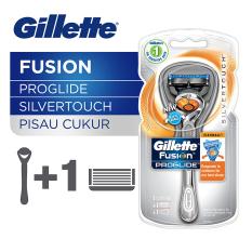 Beli Gillette Pisau Cukur Fusion Proglide Silvertouch Flexball Gillette Dengan Harga Terjangkau