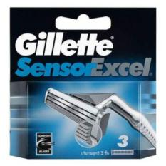 Harga Gillette Sensor Excel Cartridges 3S Termahal
