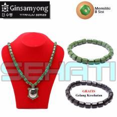 Harga Ginsamyong Titanium Jade Powder Kura Hijau Serbuk Batu Giok Murah
