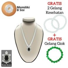 Beli Ginsamyong Titanium Putih Kura Kura Kalung Kesehatan Ginsamyong Original Bersertifikat Murah