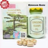 Review Ginseng Kianpi Pil Wisdom Obat Herbal Penambah Berat Badan Obat Herbal Penggemuk Badan Kemasan Baru Isi 60 Pil