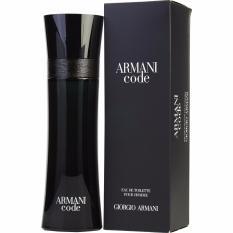 Jual Giorgio Armani Code For Men Edt 75Ml New Packaging Dki Jakarta Murah