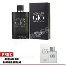 Girgio Arman Parfum Akqua Di Gio Proffumo EDP Pria -100ml Free Girgio Arman Parfum Akqua Di Gio Pour Home EDT Pria -100ml