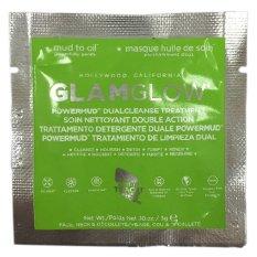Jual Beli Glamglow Masker Powermud Dual Cleanse Treatment 3 Gr