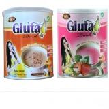 Miliki Segera Gluta Drink 2 Kaleng Rasa Original Rasa Strawberry