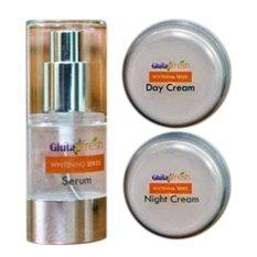 Gluta Fresh 3In1 Whitening Serum Day Cream Night Cream Indonesia Diskon